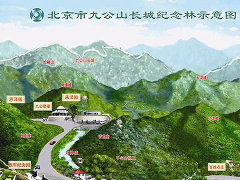鳞龙山,卧佛山,小西湖,银山塔林,黄花城,水长城等众多自然风景区.